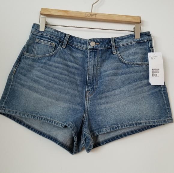 H&M Pants - 3/$25 💜NWT H&M High Waist Denim Shorts, 14